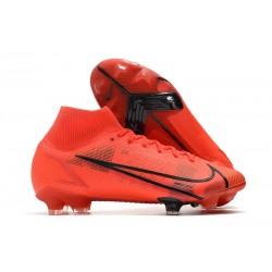 Nike Mercurial Superfly 8 Elite FG Rojo Negro