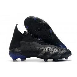 Zapatillas de Fútbol adidas Predator Freak + FG Negro Hierro Metálico Tinta