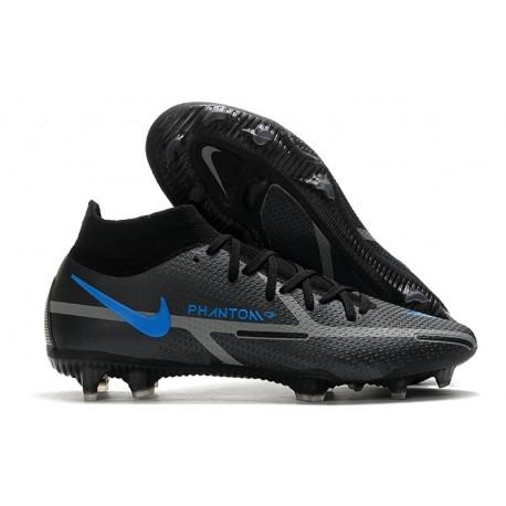 Nike Phantom GT 2 Elite DF FG Negro Gris Hierro