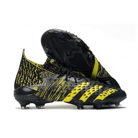 Botas adidas Predator Freak.1 FG Negro Amarillo