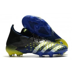 Botas adidas Predator Freak.1 FG Azul Negro Blanco Amarillo Solar