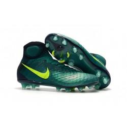Botas de fútbol Para Hombre - Nike Magista Obra II FG Rio Volt Obsidiana Jade claro