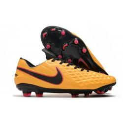 Nike Zapatilla Tiempo Legend VIII Elite FG Naranja Negro