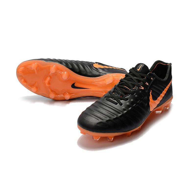 748fc06431b11 Tiempo Vii De Legend Naranja Botas Negro Fg Nike Fútbol Laser 4PttRq