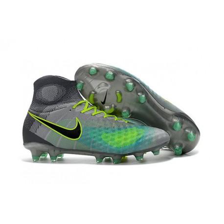... usa 2018 botas de fútbol nike magista obra ii fg verde gris negro 6d9fe  c765b d861fe8c6001e