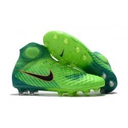 Botas de fútbol Para Hombre - Nike Magista Obra II FG Verde Negro