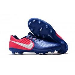 Tacos de futbol Nike Tiempo Legend 7 FG Azul Rosado