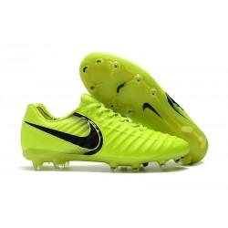 Zapatillas de Fútbol Nike Tiempo Legend VII FG Voltio Negro