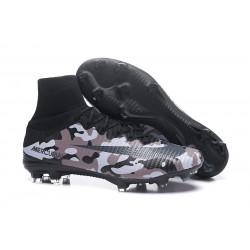 Botas de fútbol Nike Mercurial Superfly V CR7 FG Camuflaje Gris Negro