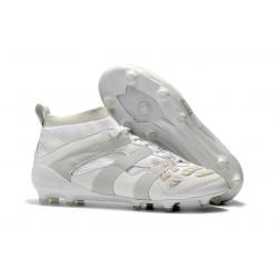 Botas de fútbol Adidas Beckham Predator Precision FG Todo Blanco