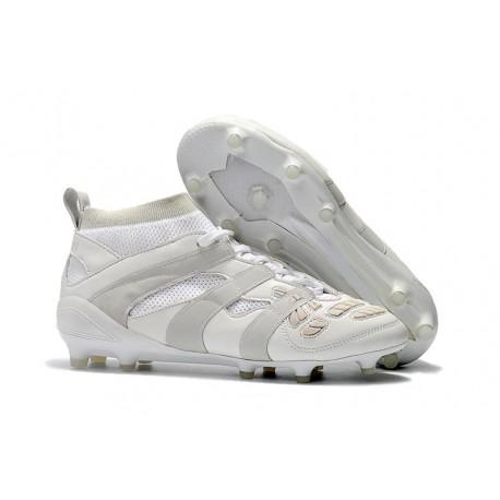 sale retailer 14d21 d27ce Botas de fútbol Adidas Beckham Predator Precision FG Todo Blanco