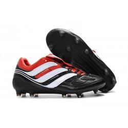 Nuevo Botas de fútbol Adidas Predator Precision FG Negro Blanco Rojo