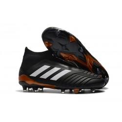 Zapatillas de fútbol adidas Predator 18+ FG - Negro Blanco Rojo