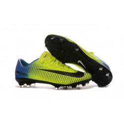 outlet store 00e02 cebea Botas de fútbol Nike Mercurial Vapor XI FG Barcelona Rojo Azul Amarillo