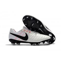 Zapatillas de Fútbol Nike Tiempo Legend VII FG Blanco Negro
