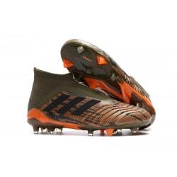 Botas de fútbol adidas Predator 18+ FG - Oliva Negro Naranja