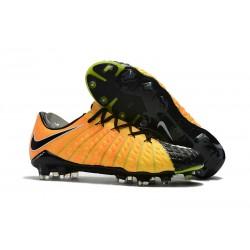2018 Botas de fútbol Nike HyperVenom Phantom III FG Amarillo Negro