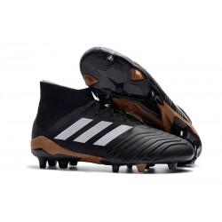 Nuevo Botas de fútbol Adidas Predator 18.1 FG Negro Blanco Rojo