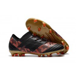 2018 Zapatos de fútbol Adidas Nemeziz Messi 17.1 FG Nergo Rojo Oro