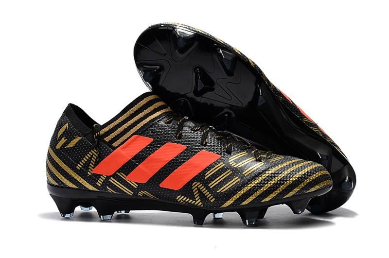 timeless design 33f48 97d33 ... ebay botas de fútbol adidas nemeziz messi 17.1 fg nergo oro naranja  f919d 554d0