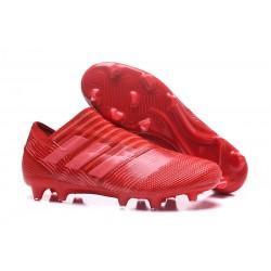 Botas de fútbol Adidas Nemeziz 17+ 360 Agility FG Rojo Rosa