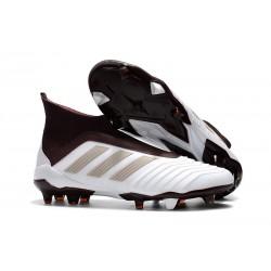 Zapatillas de fútbol adidas Predator 18+ FG - Blanco MarrÓn
