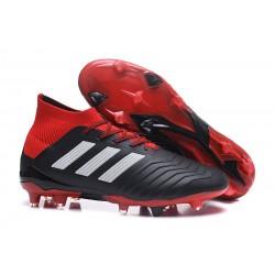 Nuevo Botas de fútbol Adidas Predator 18.1 FG Negro Rojo Blanco