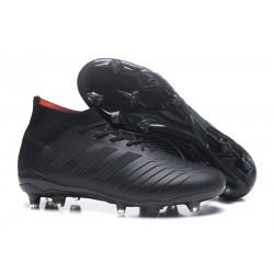 Nuevo Botas de fútbol Adidas Predator 18.1 FG Todo Negro