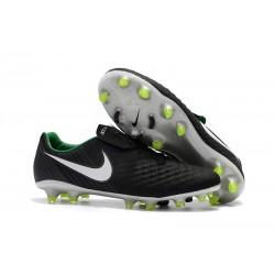 Zapatillas de fútbol Nike Magista Opus II FG - Negro Blanco Verde