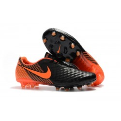 Botas de fútbol Nike Magista Opus II FG Para Hombre - Negro Blanco Rojo