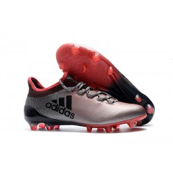 Nuevo Botas de fútbol - Adidas X 17.1 FG Gris Rose Negro