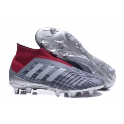 Botas de fútbol adidas Predator 18+ FG - Pogba Gris Rojo