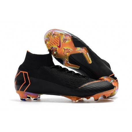 37f15fcfa2c5 Botas de fútbol Nike Mercurial Superfly VI 360 Elite FG Negro ...