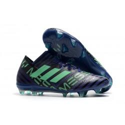 Botas de fútbol Adidas Nemeziz Messi 17.1 FG Tinta Verde Negro