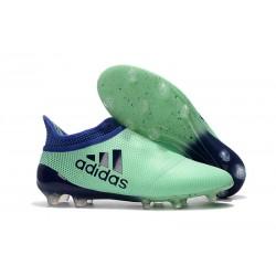 Zapatillas de fútbol Adidas X 17+ Purespeed FG Verde Tinta Verde