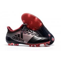 Nuevo Botas de fútbol - Adidas X 17.1 FG Rosa Negro