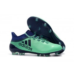 Zapatillas de fútbol Adidas X 17.1 FG Para Hombre Verde Tinta Verde