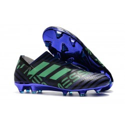 Zapatillas de fútbol Adidas Nemeziz 17+ 360 Agility FG Tinta Verde Negro
