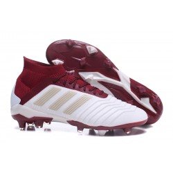 Nuevo Botas de fútbol Adidas Predator 18.1 FG Blanco Rojo