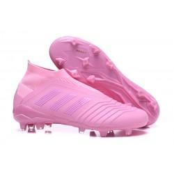 Zapatillas de fútbol adidas Predator 18+ FG - Rosa