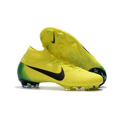 ccdcc03b105ef Tenis de Futbol Amarillo nike amarillo con negro