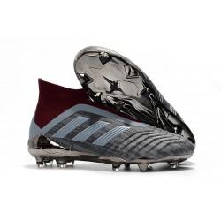 Zapatillas de fútbol adidas PP Predator 18+ FG - Hierro Metálico