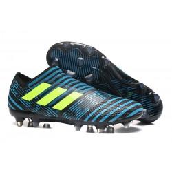 Zapatillas de fútbol Adidas Nemeziz 17+ 360 Agility FG Azul Amarillo Negro