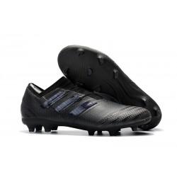 Botas de fútbol Adidas Nemeziz 17+ 360 Agility FG Todo Negro