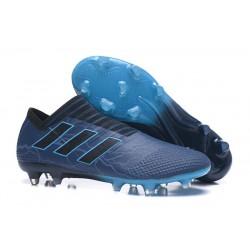 Botas de fútbol Adidas Nemeziz 17+ 360 Agility FG Negro Azul