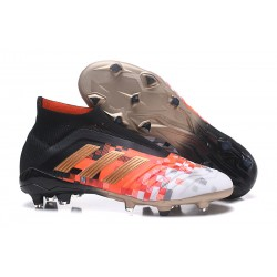 Zapatillas de fútbol adidas Predator 18+ FG - Negro Cobre Gris