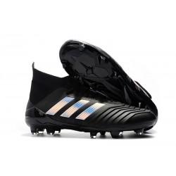 Nuevo Botas de fútbol Adidas Predator 18.1 FG - Plata Negra Color