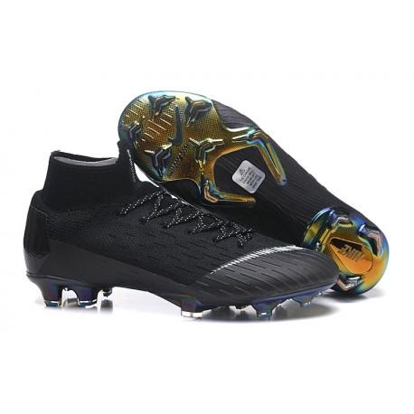 Zapatillas de fútbol Nike Mercurial Superfly VI 360 Elite FG Amarillo Azul Plateado