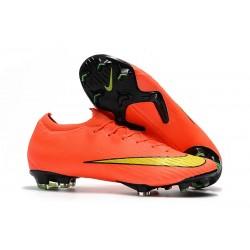 Baratas Botas de fútbol Nike Mercurial Vapor XII Elite FG Plata Verde
