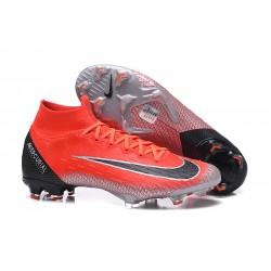 Botas de fútbol Nike Mercurial Superfly VI 360 Elite FG Rojo Negro